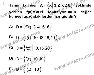 Lojistik Bölümü 4. Yarıyıl Yöneylem Araştırması II Dersi 2013 Yılı Bahar Dönemi Ara Sınavı 1. Soru
