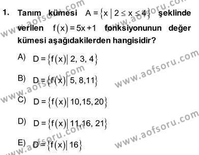 Yöneylem Araştırması 2 Dersi 2013 - 2014 Yılı Ara Sınavı 1. Soru