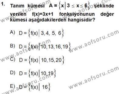 Yöneylem Araştırması 2 Dersi 2013 - 2014 Yılı Tek Ders Sınavı 1. Soru