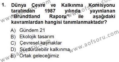 Turistik Alanlarda Mekan Tasarımı Dersi 2012 - 2013 Yılı Ara Sınavı 1. Soru