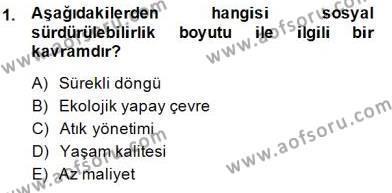 Turistik Alanlarda Mekan Tasarımı Dersi 2014 - 2015 Yılı Ara Sınavı 1. Soru