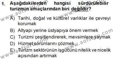 Turistik Alanlarda Mekan Tasarımı Dersi 2014 - 2015 Yılı (Final) Dönem Sonu Sınav Soruları 1. Soru