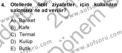 Turistik Alanlarda Mekan Tasarımı Dersi 2014 - 2015 Yılı (Final) Dönem Sonu Sınav Soruları 4. Soru