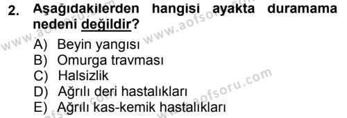 Temel Klinik Bilgisi Dersi 2012 - 2013 Yılı (Final) Dönem Sonu Sınav Soruları 2. Soru