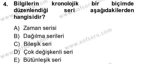 Lojistik Yönetimi Dersi 2013 - 2014 Yılı Dönem Sonu Sınavı 4. Soru
