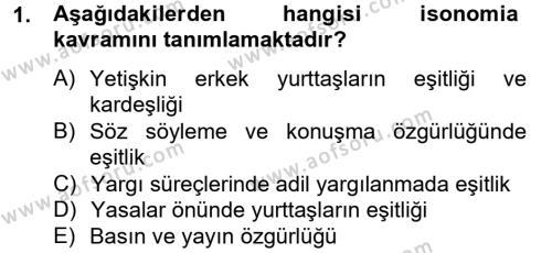 Medya ve İletişim Bölümü 4. Yarıyıl Medya Siyaset Kültür Dersi 2014 Yılı Bahar Dönemi Tek Ders Sınavı 1. Soru