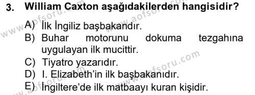 Medya ve Etik Dersi 2012 - 2013 Yılı Dönem Sonu Sınavı 3. Soru
