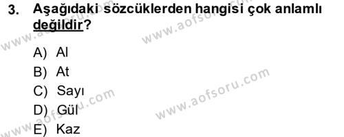 Sembolik Mantık Dersi 2013 - 2014 Yılı (Vize) Ara Sınav Soruları 3. Soru