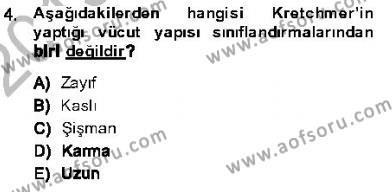 Kriminoloji Dersi 2013 - 2014 Yılı Ara Sınavı 4. Soru