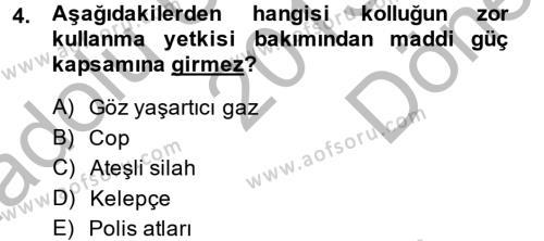 Temel Ceza Muhakemesi Hukuku Bilgisi Dersi 2013 - 2014 Yılı Dönem Sonu Sınavı 4. Soru