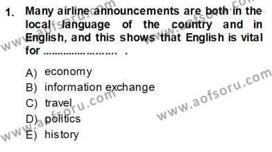 Özel Öğretim Yöntemleri Dersi 2013 - 2014 Yılı Ara Sınavı 1. Soru