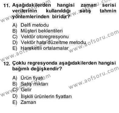 Perakendecilikte Ürün Yönetimi Dersi 2013 - 2014 Yılı (Vize) Ara Sınav Soruları 1. Soru