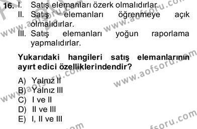 Perakendecilikte Ürün Yönetimi Dersi 2013 - 2014 Yılı (Vize) Ara Sınav Soruları 4. Soru