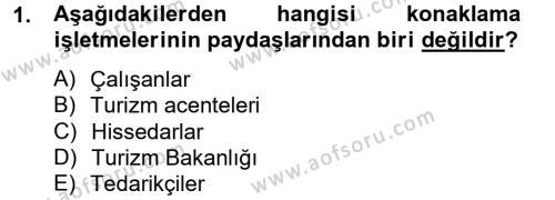 Satış Teknikleri Dersi 2012 - 2013 Yılı Ara Sınavı 1. Soru