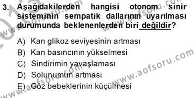 Çocuk Ruh Sağlığı Dersi 2013 - 2014 Yılı (Final) Dönem Sonu Sınav Soruları 3. Soru