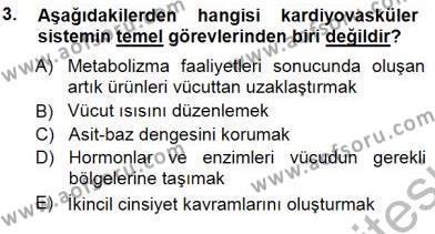 Sağlık Yönetimi Bölümü 5. Yarıyıl Tıbbi Terminoloji Dersi 2013 Yılı Güz Dönemi Dönem Sonu Sınavı 3. Soru