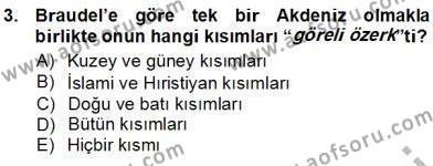 Kültürel Miras ve Turizm Bölümü 3. Yarıyıl Akdeniz Uygarlıkları Sanatı Dersi 2013 Yılı Güz Dönemi Ara Sınavı 3. Soru