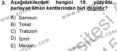 Akdeniz Uygarlıkları Sanatı Dersi 2014 - 2015 Yılı Ara Sınavı 3. Soru