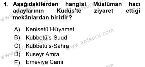 Kültürel Miras ve Turizm Bölümü 3. Yarıyıl Akdeniz Uygarlıkları Sanatı Dersi 2016 Yılı Güz Dönemi Dönem Sonu Sınavı 1. Soru