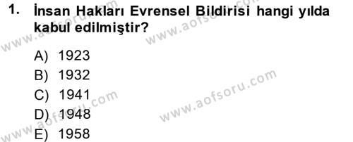 Sosyal Bilimler Bölümü 4. Yarıyıl Sosyal Hizmet Mevzuatı Dersi 2014 Yılı Bahar Dönemi Ara Sınavı 1. Soru