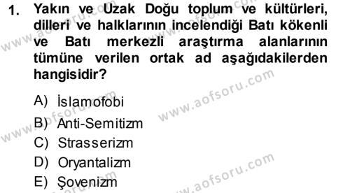 Balkanlar´da Siyaset Dersi 2013 - 2014 Yılı (Final) Dönem Sonu Sınav Soruları 1. Soru