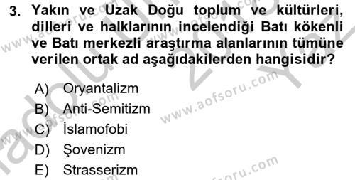 Balkanlar´da Siyaset Dersi 2018 - 2019 Yılı Yaz Okulu Sınav Soruları 3. Soru