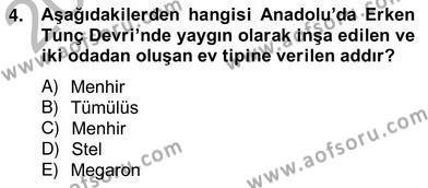 Tarih Bölümü 8. Yarıyıl Sanat Tarihi Dersi 2013 Yılı Bahar Dönemi Ara Sınavı 4. Soru