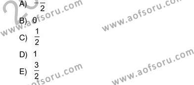 Çalışma Ekonomisi ve Endüstri İlişkileri Bölümü 2. Yarıyıl Sosyoloji II Dersi 2013 Yılı Bahar Dönemi Ara Sınavı 4. Soru