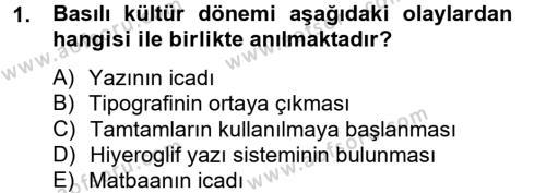 Fotoğrafçılık ve Kameramanlık Bölümü 4. Yarıyıl Sosyal Medya Dersi 2013 Yılı Bahar Dönemi Dönem Sonu Sınavı 1. Soru
