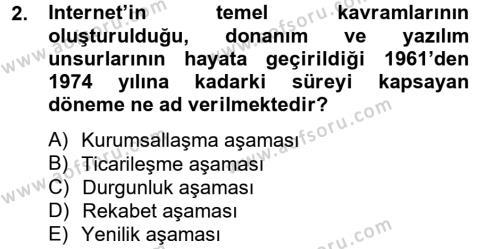 Halkla İlişkiler ve Reklamcılık Bölümü 8. Yarıyıl Sosyal Medya Dersi 2013 Yılı Bahar Dönemi Dönem Sonu Sınavı 2. Soru