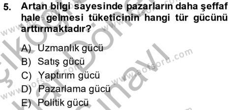 Halkla İlişkiler ve Reklamcılık Bölümü 8. Yarıyıl Sosyal Medya Dersi 2014 Yılı Bahar Dönemi Dönem Sonu Sınavı 5. Soru