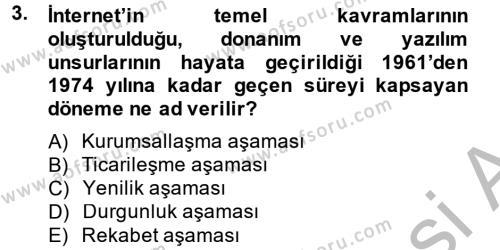 Sosyal Medya Dersi 2014 - 2015 Yılı Dönem Sonu Sınavı 3. Soru