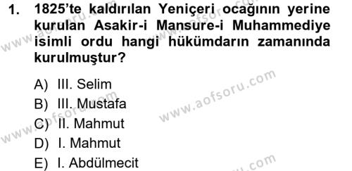 Sosyoloji Bölümü 7. Yarıyıl Türkiye' de Sosyoloji Dersi 2013 Yılı Güz Dönemi Ara Sınavı 1. Soru