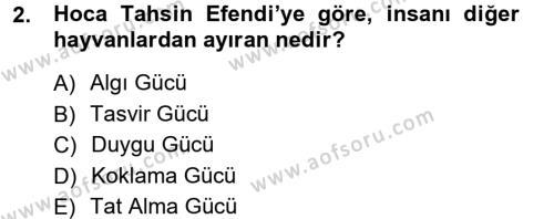 Sosyoloji Bölümü 7. Yarıyıl Türkiye' de Sosyoloji Dersi 2013 Yılı Güz Dönemi Ara Sınavı 2. Soru