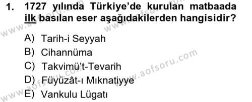 Sosyoloji Bölümü 7. Yarıyıl Türkiye' de Sosyoloji Dersi 2013 Yılı Güz Dönemi Dönem Sonu Sınavı 1. Soru