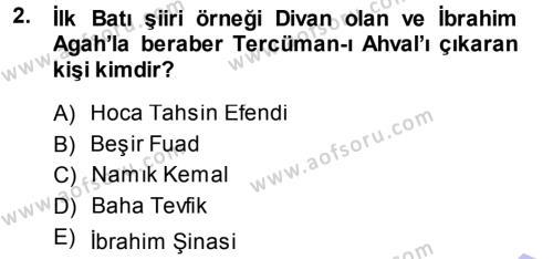 Türkiye´de Sosyoloji Dersi 2013 - 2014 Yılı (Final) Dönem Sonu Sınav Soruları 2. Soru