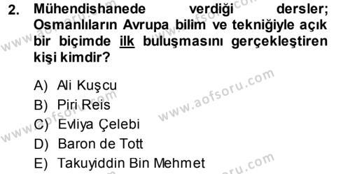 Sosyoloji Bölümü 7. Yarıyıl Türkiye' de Sosyoloji Dersi 2014 Yılı Güz Dönemi Tek Ders Sınavı 2. Soru
