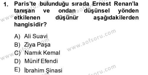 Sosyoloji Bölümü 7. Yarıyıl Türkiye' de Sosyoloji Dersi 2015 Yılı Güz Dönemi Ara Sınavı 1. Soru