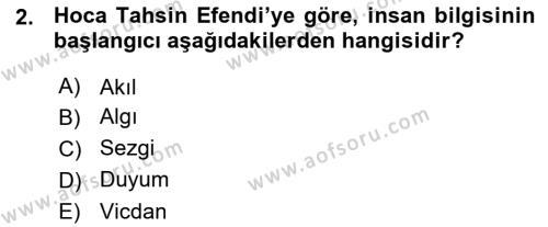 Sosyoloji Bölümü 7. Yarıyıl Türkiye' de Sosyoloji Dersi 2016 Yılı Güz Dönemi Ara Sınavı 2. Soru