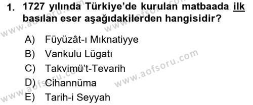 Sosyoloji Bölümü 7. Yarıyıl Türkiye' de Sosyoloji Dersi 2016 Yılı Güz Dönemi Dönem Sonu Sınavı 1. Soru