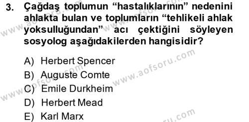 Halkla İlişkiler ve Reklamcılık Bölümü 4. Yarıyıl Medya Sosyolojisi Dersi 2014 Yılı Bahar Dönemi Ara Sınavı 3. Soru