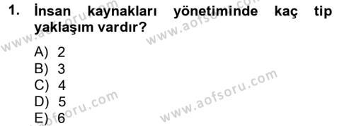 Spor Yönetimi Dersi 2014 - 2015 Yılı (Vize) Ara Sınav Soruları 1. Soru