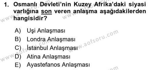 Atatürk İlkeleri Ve İnkılap Tarihi 1 Dersi 2018 - 2019 Yılı 3 Ders Sınav Soruları 1. Soru