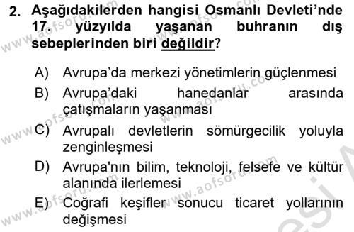 Atatürk İlkeleri Ve İnkılap Tarihi 1 Dersi 2018 - 2019 Yılı 3 Ders Sınav Soruları 2. Soru
