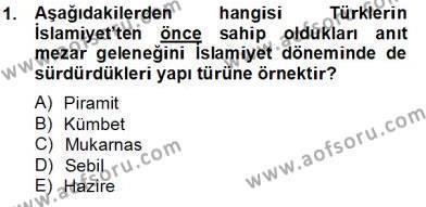 Emlak ve Emlak Yönetimi Bölümü 4. Yarıyıl Mimarlik Tarihi Dersi 2014 Yılı Bahar Dönemi Tek Ders Sınavı 1. Soru
