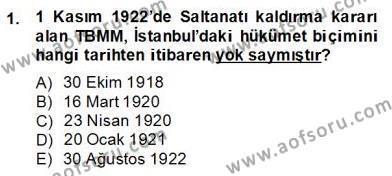 Türkçe Cümle Bilgisi 2 Dersi 2013 - 2014 Yılı (Final) Dönem Sonu Sınav Soruları 1. Soru