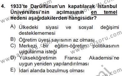 Türkçe Cümle Bilgisi 2 Dersi 2013 - 2014 Yılı (Final) Dönem Sonu Sınav Soruları 4. Soru