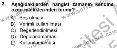 Kültürel Miras ve Turizm Bölümü 3. Yarıyıl Turizm Coğrafyası Dersi 2015 Yılı Güz Dönemi Ara Sınavı 3. Soru