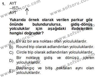 Bilet Satış Dersi 2013 - 2014 Yılı (Final) Dönem Sonu Sınav Soruları 1. Soru