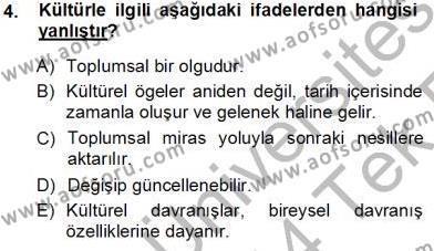 Sosyal Hizmetler Bölümü 3. Yarıyıl Türk Dili I Dersi 2014 Yılı Güz Dönemi Tek Ders Sınavı 4. Soru